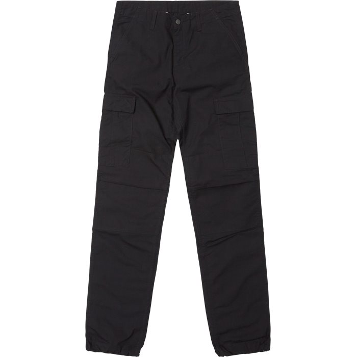 Cargo Pants - Bukser - Regular - Sort